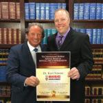 Dr. Kurt Simons Receives Prestigious Back Pain Treatment Award