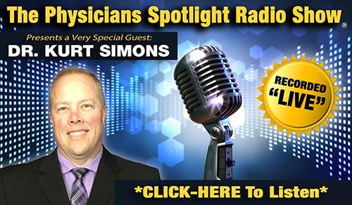 Listen to Dr Simons on the radio